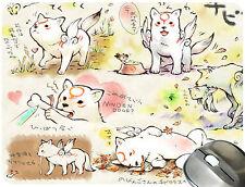 Okami Chibiterasu 06# Anime Mouse Pad Mouse Mat Mousepad M0393