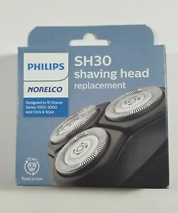 NEW Philips Norelco SH30/52 Replacement Shaving Heads, Series 1000/3000 12M