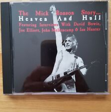 The Mick Ronson Story Heaven An Hull RARE Promotional CD