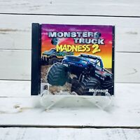 Monster Truck Madness 2 by Microsoft PC CD-ROM Video Game