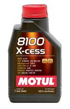 MOTUL OLIO 8100 X CESS 5W40 GM OPEL BMW PORSCHE VW RENAULT BENZINA DIESEL 1L