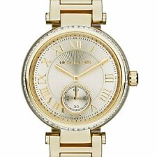 NWT Michael Kors Skylar Champagne Dial Gold-tone Ladies Watch