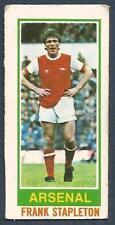 #12-ARSENAL /& EIRE-FRANK STAPLETON TOPPS 1980 FOOTBALL POSTER