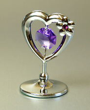 Crystocraft Mini Heart Made with Swarovski Crystal