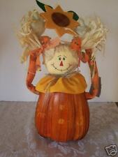 PUMPKIN SCARECROW HALLOWEEN DECORATION TRICK TREAT