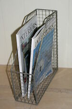 Wirework document/ magazine holder - Fair trade