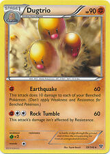 4x Pokemon XY Dugtrio 59/146 Rare Card