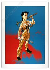 Affiche Buchet Sillage Navis Armée 50x70 cm