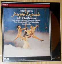 LASER DISC (VIDEO) STRAUSS JOSEPHS LEGENDE JOHN NEUMEIER (PAL) VERSIEGELT SEALED