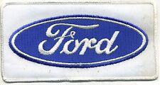 "Hot Rod Patch Vtg Ford Back 6.5"" Drag Race Racing Roadster Mechanic Jacket"
