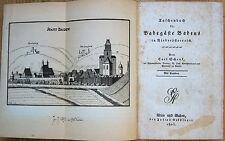 1800-1849 Erstausgabe Antiquarische Bücher für Reiseführer & Reiseberichte