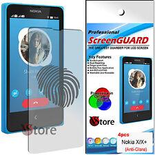 4 Película Matt Para Nokia x y x+ Android Anti-glare Anti-huellas pantalla LCD