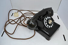 1940 Western Electric Telephone Pristine Matching Nos. & Great Cords!
