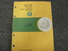 John Deere 6200 6300 6400 6500 Utility Tractor Parts Catalog Manual Pc4252