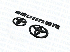 For 2014-2020 TOYOTA 4RUNNER BLACKOUT EMBLEM OVERLAY KIT GENUINE OEM
