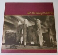 U2 The Unforgettable Fire Vinyl LP 1984 Island Records IL-90231 Vintage Album