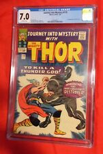 JOURNEY INTO MYSTERY # 118 CGC 7.0 THOR 1ST APP DESTROYER BY STAN LEE JACK KIRBY