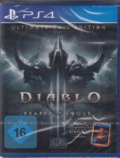 Diablo 3 III Reaper of Souls-Ultimate Evil Edition ps4 playstation 4 NOUVEAU & NEUF dans sa boîte