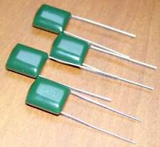 4 Condensateurs Mylar NEUFS 47nF - 630V - 0.047uF - 47000pF