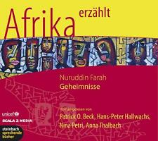 Patrick O. Beck Nuruddin Farah/Geheimnisse Afrika erzählt 2008 Hörbuch ovp 5/CD