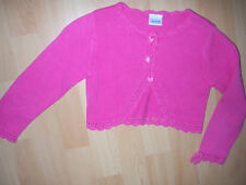Gilet court rose vif fille 6 ANS boutons Hello Kitty