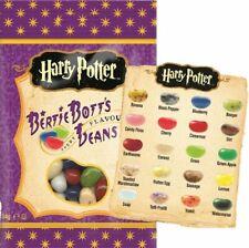 Harry Potter Bertie BOTT'S 54g Borsa American CANDY & SWEETS varietà di pesi
