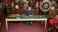 "1920's Roulette Table from The Palace Club Casino in Reno NV  ""Watch Video"""