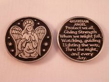 Guardian Angel ~ Pewter Pocket Token ~ Pack of Two