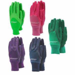 Master Gardener Men's Ladies Kids Latex Grip Weeding & Garden Gardening Gloves