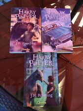 Harry Potter 1-3 Y La Camara Secreta Prisonero Azkaban Piedra Filosofal Spanish