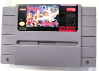 RARE! Magic Sword SUPER NINTENDO SNES GAME Tested + + WORKING & AUTHENTIC! ++