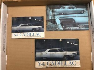 1964 Cadillac Used Owners manual set