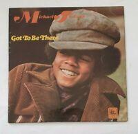 Michael Jackson - Got To Be There - 1972 - STML 11205 - UK Pressing - Vinyl LP