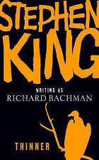 Thinner by Richard Bachman, Stephen King (Paperback, 1988)