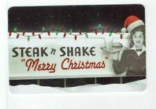 Steak 'n Shake Gift Card Christmas - Foil Lights - Billboard - No Value