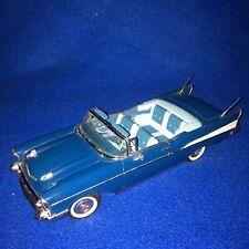 1957 Chevrolet Bel Air Convertible Danbury Mint 1/24 Diecast Car Rare