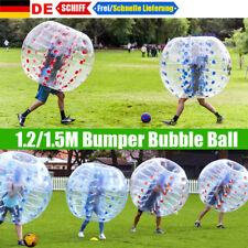 1.2/1.5M Bumper Bubble Ball Aufblasbar Soccer Kinder Zorb Knockerball Spiel Spaß