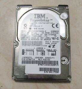 "IBM TravelStar 30GN 30GB 4200RPM 2.5 "" Ata / Ide Notebook HDD (IC25N030ATDA04)"