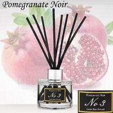Aldi No 3 Luxury Reed Diffuser long-lasting Fragranced Pomegranate Noir Free P&P