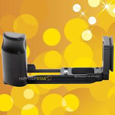Quick Release Plate L Bracket Vertical Grip Olympus OM-D E-M10 II EM10II RRS AS