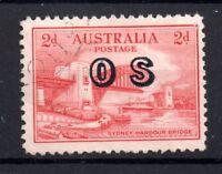 1931 2d Kingsford OS overprint fine used SG0123 WS7261