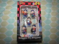 Winners Circle NASCAR 2003 Jeff Gordon 24 Mini Ornaments NIB