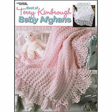 2001 Leisure Arts Best of Terry Kimbrough Baby Afghans 24 Crochet Designs