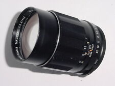 Pentax TAKUMAR 135mm F/2.5 SMC M42 Screw Mount Manual Focus Lens * Ex++