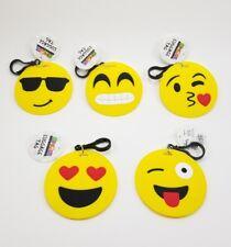 "5  Instagram/Facebook Emoji Travel Luggage Tags Travel dentifier 3"" Smiley Faces"