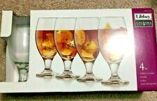 Libbey 4 Piece Goblet Glass Set