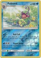 Politoed 25/145 SM Guardians Rising Reverse Holo Rare Pokemon Card MINT TCG
