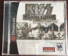 Kiss Psycho Circus: The Nightmare Child Sega Dreamcast Brand New! Sealed!