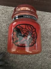 Yankee Candle Jar Candy Corn Halloween Retired RARE VHTF