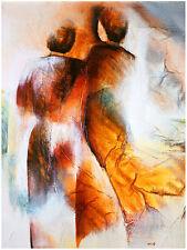 WIL LOF Iris II Poster Stampa d'Arte Immagine 80x60cm-SPEDIZIONE GRATUITA
